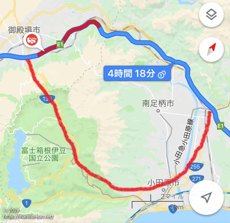 東名 御殿場 大井松田 渋滞回避 ルート