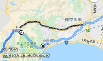 大井松田 御殿場 事故渋滞 一般道 抜け道